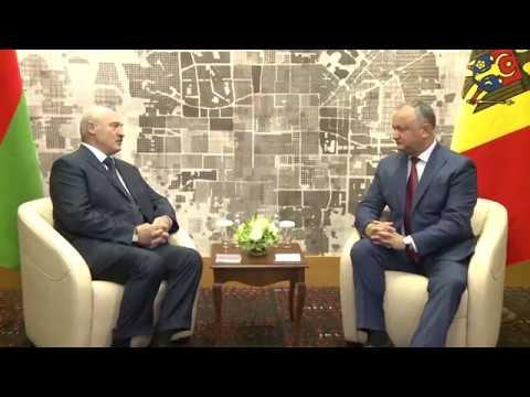 Igor Dodon a avut o întrevedere de lucru cu Alexandr Lukașenko