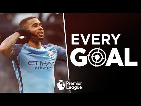 Video: EVERY MANCHESTER CITY GOAL   Premier League 2016/17