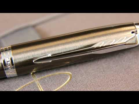 1910451 Подарочный набор Parker 2014 с перьевой и шариковой ручками Parker IM Gun Metal