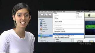 New IPod Nano - How To Access ITunes Online