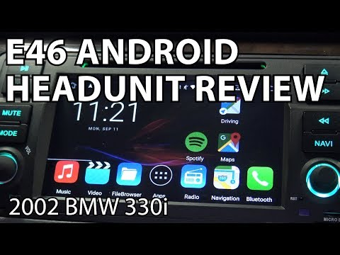How To Install an Android Head Unit For a BMW E46!