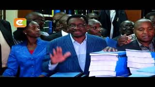 Nasa wants court to nullify Kenyatta's victory Coalition claims anomalies in vote tallying Nasa claims IEBC officials influenced...