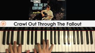 Sheldon Allman - Crawl Out Through the Fallout (Piano Cover)  Gold Patreon Dedication #139 for EthanPLATINUM Package - Paid Full Song Video Lesson Package (Cover + Private Full Song Tutorial)http://bestpianomethod.com/full-song-video-lesson/GOLD Package - Paid Video Song Requests Links:Paid Cover Package (Cover only): http://bestpianomethod.com/request-any-song-piano-cover-service/Or similarly you can enjoy this service once a month by becoming my Patreon here: https://www.patreon.com/amosdollmusic?ty=h