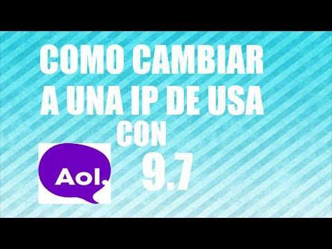 9.7 - http://www.solodolar.biz Programa para cambiar de ip de USA Estados Unidos 2014 Aol 9.7 es el mejor programa para cambiar de ip gratis 2014 Version AOL 9.6 e...