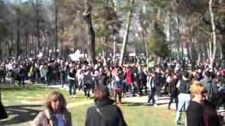 Shkup: Marsh Për Paqe