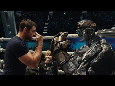 Real Steel Robot Boxing Scenes, Atom vs Zeus, 2.3.4. round