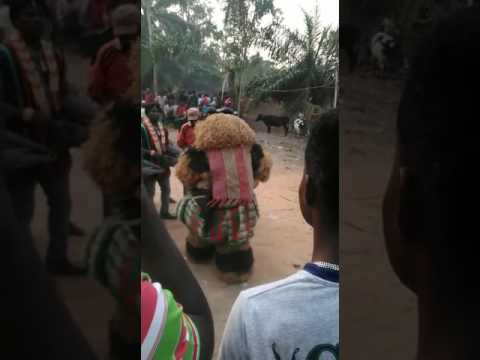 Akpugo Nkanu Masquerade at the burial of John's father.