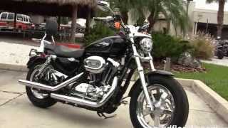 8. Used 2014 Harley Davidson Sportster 1200 Custom Motorcycles for sale in Fort Myers