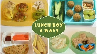 Indian Lunch Box Ideas - Part 1 | Kids Lunch Box Recipes| Quick Lunch Box
