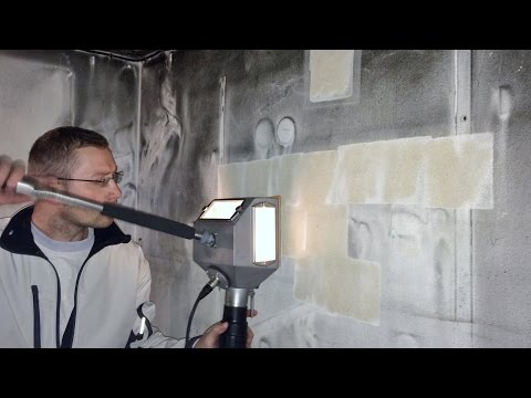 fire damage restoration with vacuum blast method