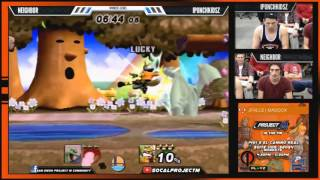 Awesome set from PM in the PM last Monday: iPunchkidsz (Fox, Lucario) vs Neighbor (Charizard)