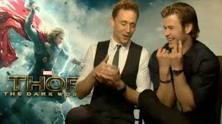 Tom Hiddleston & Chris Hemsworth Funny Interview 2013 full download video download mp3 download music download