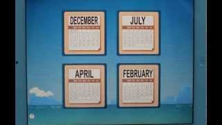 Month Sequence ☺ Autism Series YouTube video