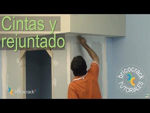 Construir tabiques de yeso laminado (Pladur) 3: juntas (BricocrackTV)