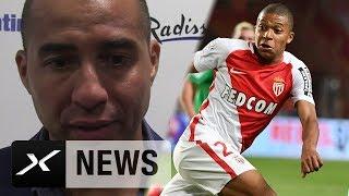 David Trezeguet kam ähnlich wie Kylian Mbappe in jungen Jahren zur Profimannschaft der AS Monaco. Der Franzose hat...