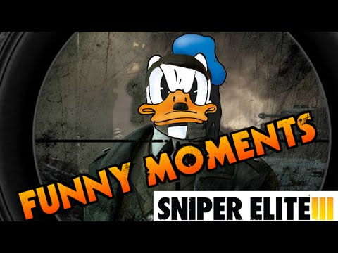 sniper - [SNIPER ELITE 3]- Funny moments and EPIC SCENE!!! PUT A LIKE, SHARE THIS VIDEO and PIIII DIIII PAAAAAI Il supremo cecchino Capobastone durante una missione in Africa, si ritrova a fare i...