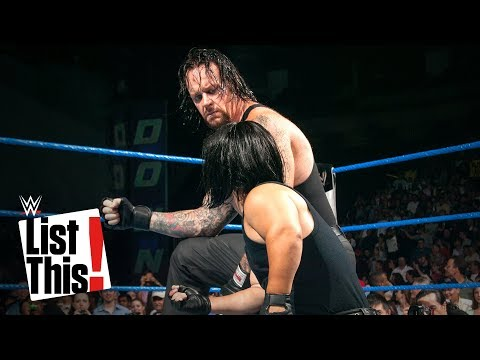 The Undertaker's 5 strangest moments: WWE List This