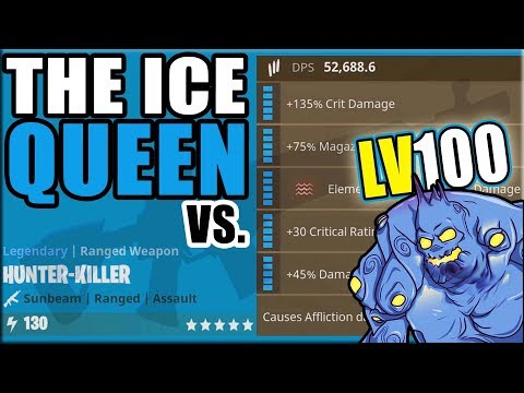 THE ICE QUEEN vs. LV100 | Fortnite