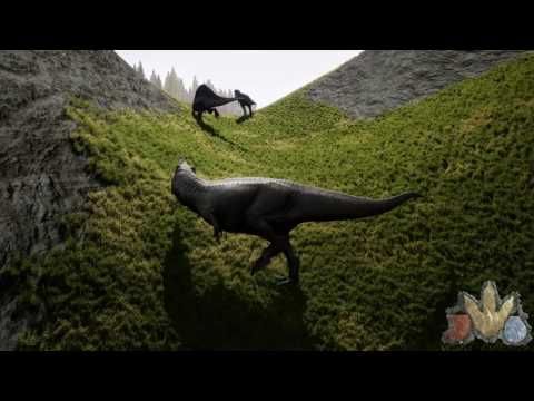 The Isle: Realism - Rex Pair Hunts Lone Spino