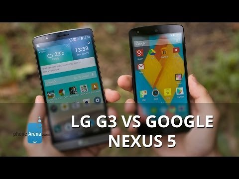 nexus - For more details, check out our web site: http://www.phonearena.com/reviews/LG-G3-vs-Google-Nexus-5_id3735 The LG G3 is all the rage right now, and that's no...