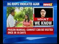 DIG Roopas claim on special privileges being given to Sasikala in Agrahara prison  - 08:16 min - News - Video