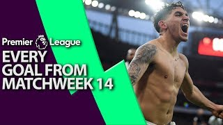 Video Every goal from Premier League Matchweek 14 I NBC Sports MP3, 3GP, MP4, WEBM, AVI, FLV Desember 2018