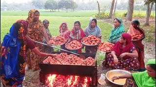 Video Best Evening Snack - 65 KG New Potato & Spice Ingredient Mixed Fried Chop Making For Full Villagers MP3, 3GP, MP4, WEBM, AVI, FLV Mei 2019