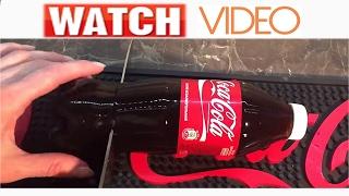 Как сделать Желе с колы для деток мармеладная бутылка Coca-Cola jelly coca cola bottle jelly.