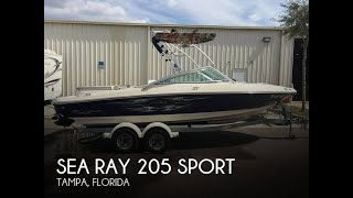 2. [SOLD] Used 2008 Sea Ray 205 Sport in Tampa, Florida