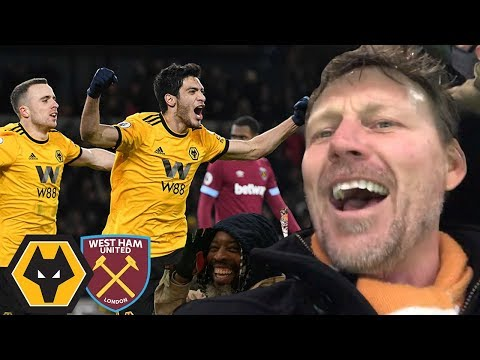 JIMENEZ HAMMERS THE HAMMERS! Wolves Vs West Ham 3-0 Matchday Vlog