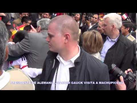ALCALDE DELMAN DAVID GAYOSO GARCÌA ENTREGÒ LLLAVE DE LA CIUDAD AL PRESIDENTE DE ALEMANIA