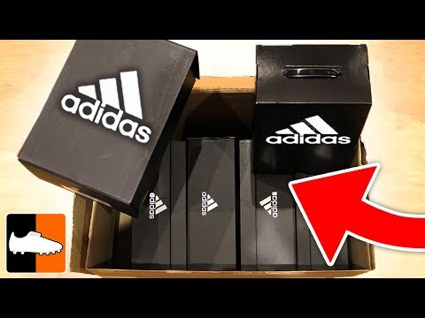 What's In The Box?! Huge Adidas New Season Unboxing!!