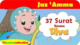 Video Juz Amma 37 Surat bersama Diva | Kastari Animation Official MP3, 3GP, MP4, WEBM, AVI, FLV Juli 2019