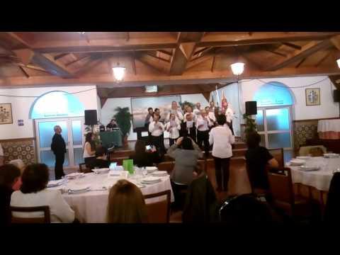 Actuação do coro de Braga