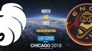 North vs ENCE - IEM Chicago 2018 EU Quals - map3 - de_nuke [GodMint, ceh9]