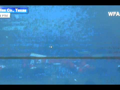 Dallas Tornado sends Tractor Trailer Trucks Flying