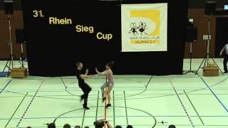 Meike Gülicher & Hannes Ullrich - 31. Rhein-Sieg-Cup 2013