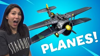 Fortnite: Insane Planes! - Streamer Showdown by IGN