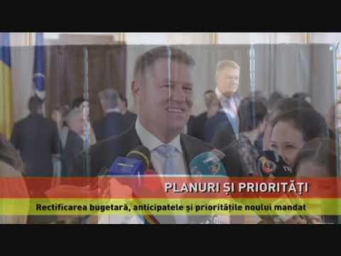Klaus Iohannis, rectificarea bugetară, anticipatele și prioritățile noului mandat