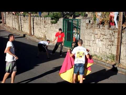 Capea y encierro Ituero de Azaba 2013