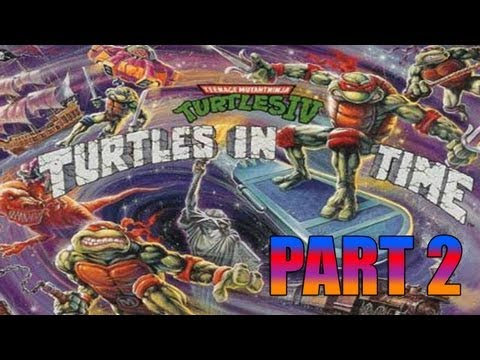 preview-Gaming with the Kwings - TMNT IV Turtles in Time (Snes) part 2 Co-op! (Kwings)