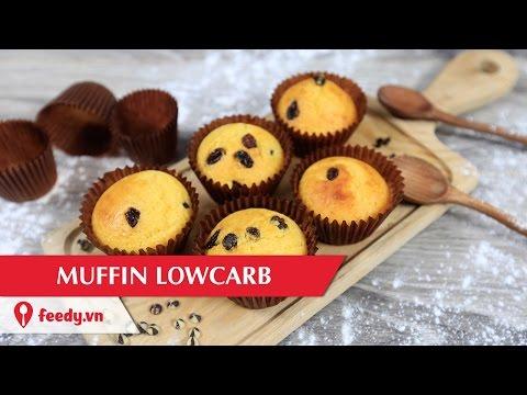 Cách làm muffin lowcarb ngon tuyệt cú mèo ăn hoài mà không sợ béo
