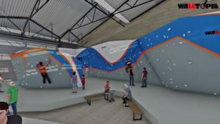 Sydney Indoor Climbing Gym Walk-through video