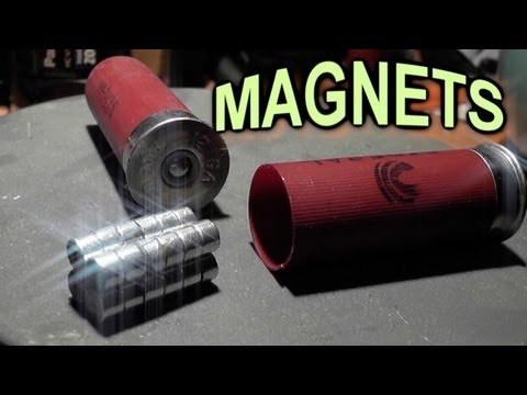 NEODYMIUM MAGNETS – Shot from a GUN – Fantasy Ammo