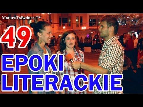 Matura To Bzdura - EPOKI LITERACKIE odc. 49