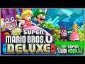 Adelante Caco Gazapo!!!! | 02 | New Super Mario Bros. U Deluxe (New Super Luigi U)