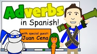 "SUBSCRIBE for more Spanish videos: http://bit.ly/XGe7weFollow me on Facebook: https://www.facebook.com/srjordanspanishTweet me: https://twitter.com/senorjordanCheck out my website: http://www.senorjordan.com~~~~~~~~~~~~~~~~~~~~~~I hope you enjoy this video that was two years in the making! I think I have come a long way on animation but still have a long way to go.And if you want to see more about Juan Cena's story, go here:https://www.youtube.com/playlist?list=PLPD6O-TouCqSo9bOQlMbPpZC13yLzM_Xv (past tense)Did anyone watch until the very end of the video!?Write ""Vivieron felices para siempre""(they lived happily ever after)  in the comments section if you did!"