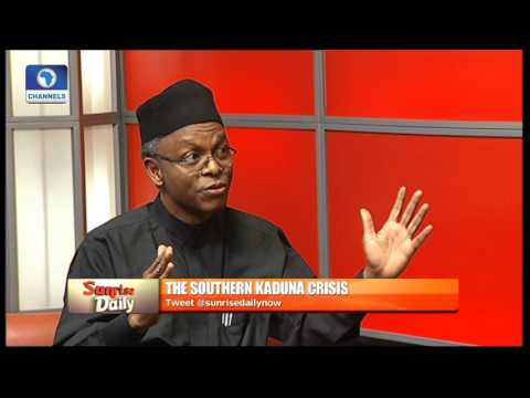 El-Rufai Speaks On Southern Kaduna Crisis Pt 1