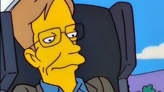 Video Stephen Hawking's One Request When He Appeared On The Simpsons MP3, 3GP, MP4, WEBM, AVI, FLV Maret 2018