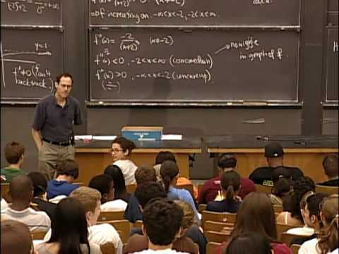Lec 11 | MIT 18.01 Single Variable Calculus, Fall 2007